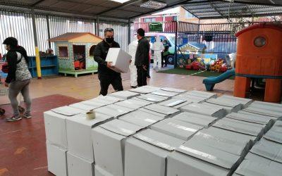 MUNICIPIO DE EL BOSQUE ENTREGA CERCA DE 3.000 CAJAS DE MERCADERÍA A VECINOS MÁS VULNERABLES DE LA COMUNA EN LAS ÚLTIMAS 72 HORAS